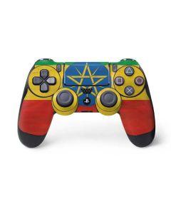 Ethiopia Flag Distressed PS4 Pro/Slim Controller Skin