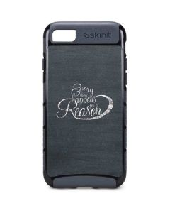 Everything Happens For A Reason Chalk iPhone 8 Cargo Case