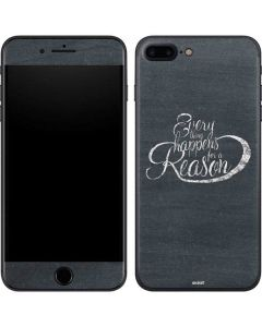 Everything Happens For A Reason Chalk iPhone 8 Plus Skin