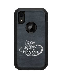 Everything Happens For A Reason Chalk Otterbox Defender iPhone Skin