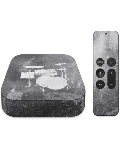Faded Drumset Apple TV Skin