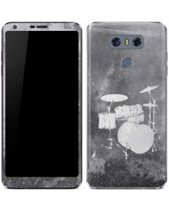 Faded Drumset LG G6 Skin