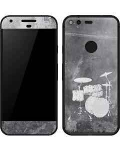 Faded Drumset Google Pixel Skin