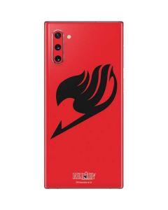 Fairy Tail Emblem Galaxy Note 10 Skin