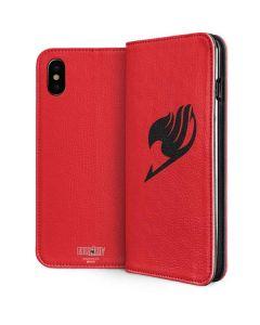 Fairy Tail Emblem iPhone XS Folio Case