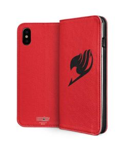 Fairy Tail Emblem iPhone XS Max Folio Case