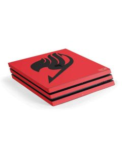 Fairy Tail Emblem PS4 Pro Console Skin