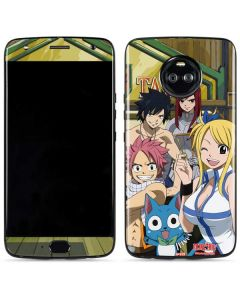 Fairy Tail Group Shot Moto X4 Skin