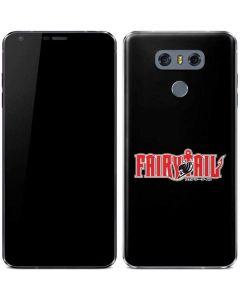 Fairy Tail Logo LG G6 Skin
