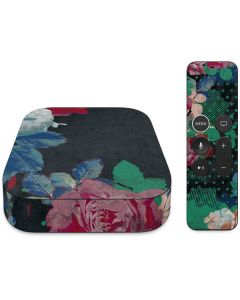 Fall Flowers Apple TV Skin