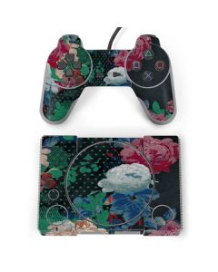 Fall Flowers PlayStation Classic Bundle Skin