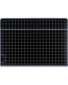 Black Grid Galaxy Book Keyboard Folio 12in Skin