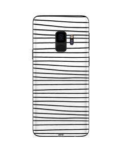 Freehand Stripes Galaxy S9 Skin
