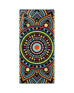 Finding Center Colored Galaxy Note 10 Skin