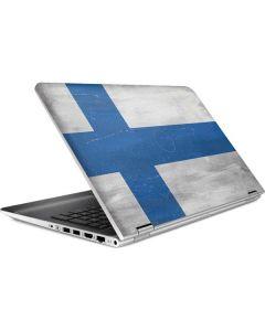 Finland Flag Distressed HP Pavilion Skin