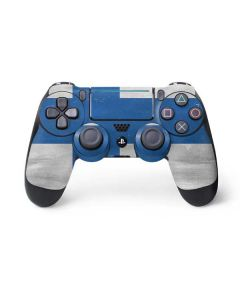 Finland Flag Distressed PS4 Pro/Slim Controller Skin