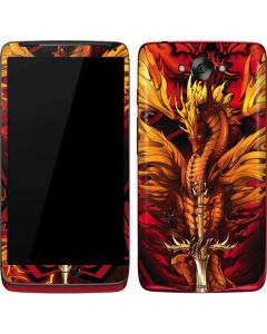 Fire Dragon Motorola Droid Skin