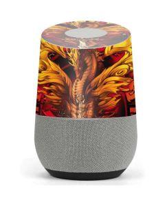 Fire Dragon Google Home Skin