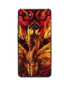 Fire Dragon Google Pixel 3 XL Skin