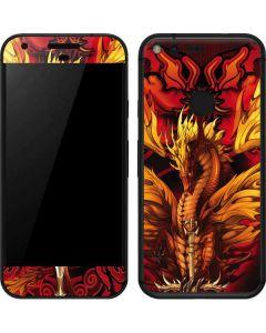 Fire Dragon Google Pixel Skin