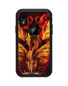 Fire Dragon Otterbox Defender iPhone Skin