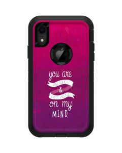 First And Last Thing On My Mind Pink Otterbox Defender iPhone Skin