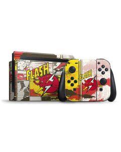 Flash Block Pattern Nintendo Switch Bundle Skin