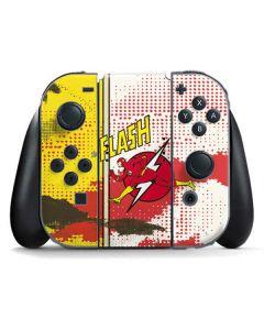 Flash Block Pattern Nintendo Switch Joy Con Controller Skin