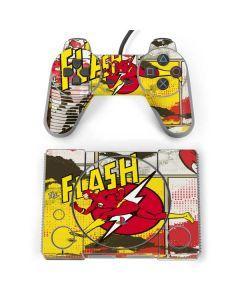 Flash Block Pattern PlayStation Classic Bundle Skin