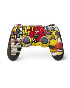 Flash Block Pattern PS4 Pro/Slim Controller Skin
