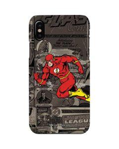 Flash Mixed Media iPhone XS Max Lite Case