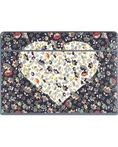 Floral Heart Galaxy Book Keyboard Folio 12in Skin
