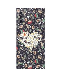 Floral Heart Galaxy Note 10 Skin