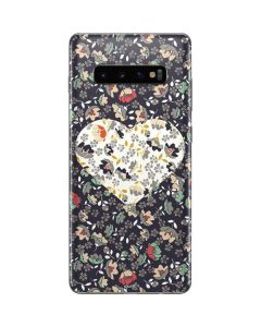 Floral Heart Galaxy S10 Plus Skin