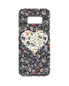 Floral Heart Galaxy S8 Pro Case