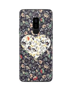 Floral Heart Galaxy S9 Plus Skin