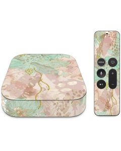 Floral Shadows Apple TV Skin