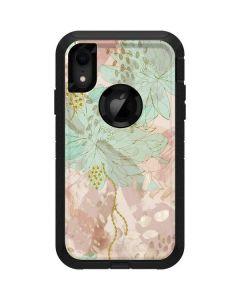 Floral Shadows Otterbox Defender iPhone Skin