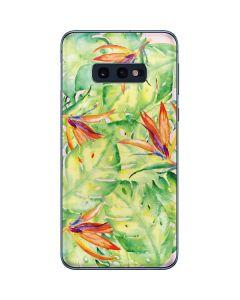 Floral Tropics Galaxy S10e Skin