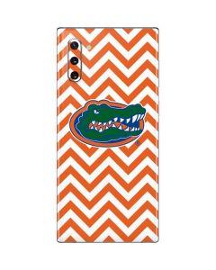 Florida Gators Chevron Print Galaxy Note 10 Skin