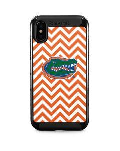 Florida Gators Chevron Print iPhone XS Cargo Case