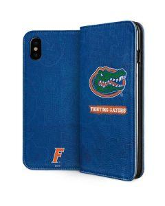 Florida Gators iPhone XS Folio Case