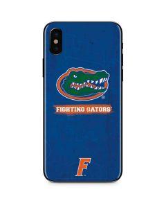 Florida Gators iPhone XS Skin
