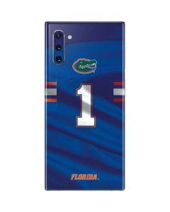 Florida Gators Jersey Galaxy Note 10 Skin