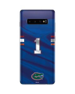 Florida Gators Jersey Galaxy S10 Plus Skin