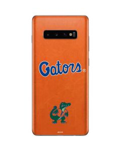 Florida Gators Orange Galaxy S10 Plus Skin