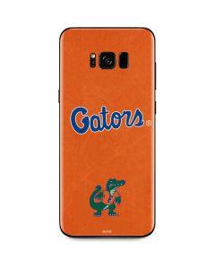 Florida Gators Orange Galaxy S8 Plus Skin