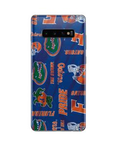 Florida Gators Pattern Galaxy S10 Plus Skin
