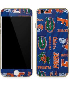 Florida Gators Pattern iPhone 6/6s Skin