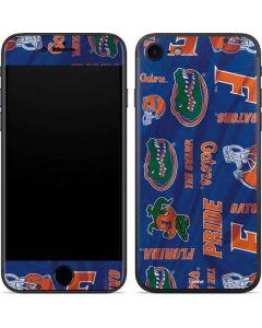 Florida Gators Pattern iPhone 7 Skin
